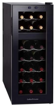 Винный шкаф Cellar Private CP021-2T Черный