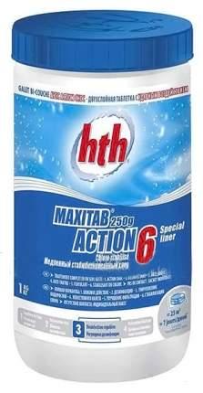 Дезинфицирующее средство для бассейна hth Maxitab Ation 6 K801792H1 1 кг