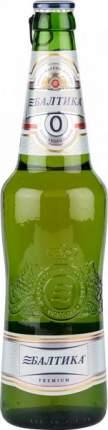 Пиво Балтика №0 безалкогольное стекло 0.47 л