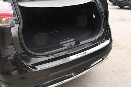 Накладка на наружный порог багажника без логотипа, Nissan X-Trail 2015-2019