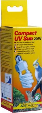 Ультрафиолетовая лампа для террариума Lucky Reptile Compact UV Sun, 20 Вт