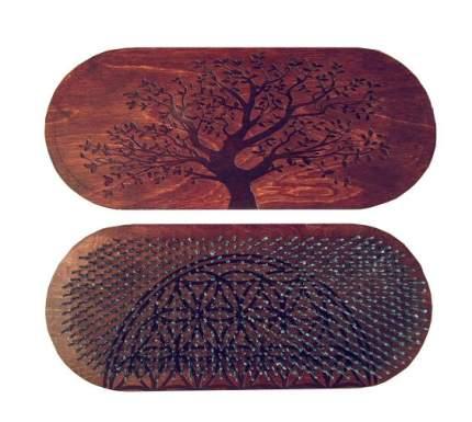 Доска садху Sadhu RaWays Дерево Жизни овальная коричневая
