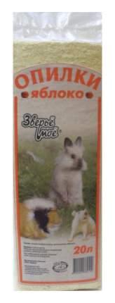 Наполнитель для грызунов Зверьё моё Яблоко, 6 шт по 800 г