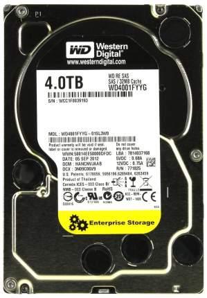 Внутренний жесткий диск Western Digital 4TB (WD4001FYYG)