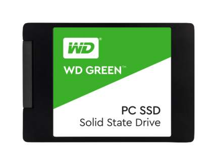 Внутренний SSD диск Western Digital Green 480GB (WDS480G2G0A)