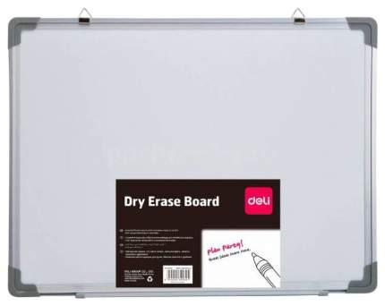 Доска магнитно-маркерная Deli с алюминиевой рамой E39037A 120x180 см