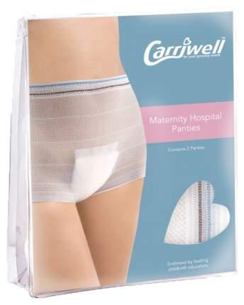 Трусы для беременных Carriwell роддома белый One size