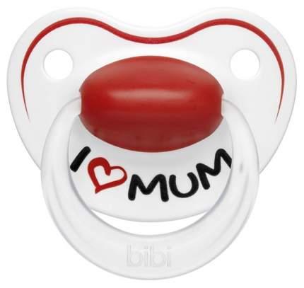 Пустышка силиконовая Bibi Premium Dental Mum/Dad 0-6 мес 2816/0621