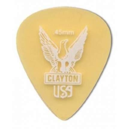 CLAYTON US45/12 Набор медиаторов 12 шт.