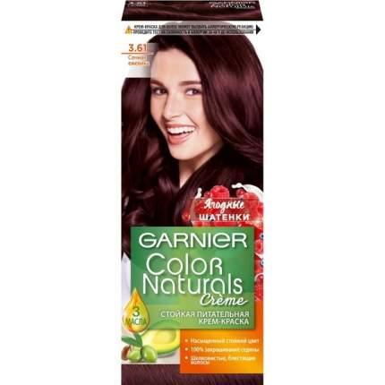"""Крем-краска для волос """"Color Naturals"""" тон 3.61, Сочная ежевика"""