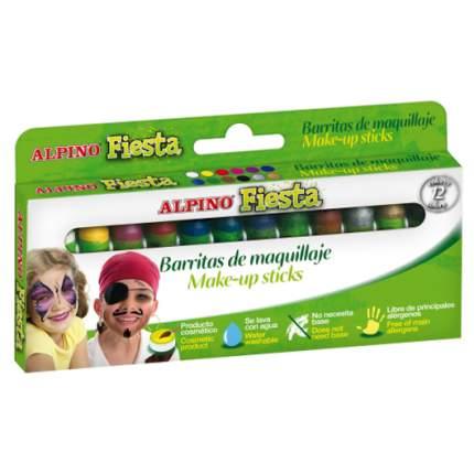 Аквагрим детский Alpino фиеста 12 x 5 гр (12 цветов)