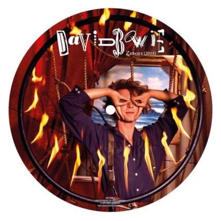 """Виниловая пластинка David Bowie Zeroes (2018)(Picture Disc)(7"""" Vinyl Single)"""