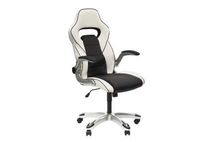 Игровое кресло Hoff Present, белый/черный