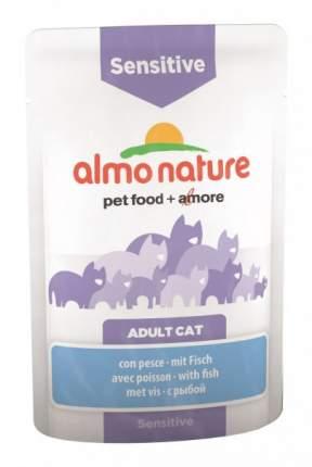 Влажный корм для кошек Almo Nature Holistic Sensitive, рыба, 70г