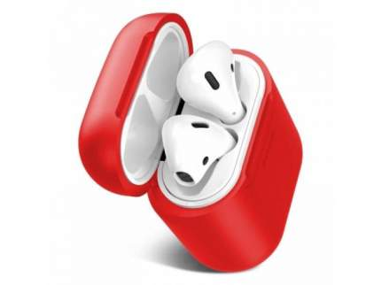 Чехол Baseus Wireless Charger для беспроводной зарядки AirPods Red