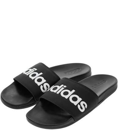 Шлепанцы Adidas B42207, черный/белый, 9 DE