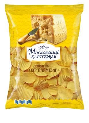 Чипсы картофельные рифленые Московский картофель сыр пармезан 150 г