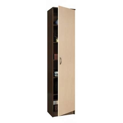 Платяной шкаф MFMaster MAS_MST-PDO-SH1-R-20-VD 35х45х200, венге/дуб молочный