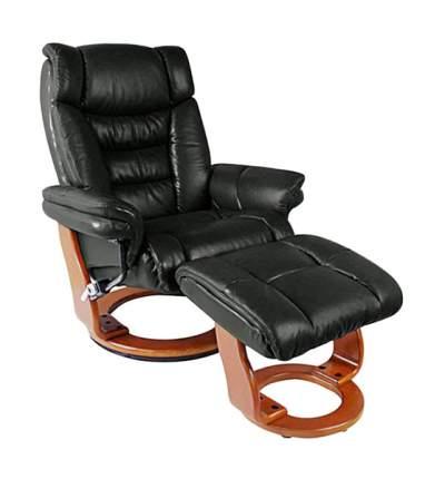 Кресло для гостиной Duorest 105х81х132 см, коричневый/черный