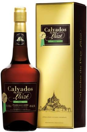 Кальвадос Calvados du pere Laize VS gift box 0.7 л