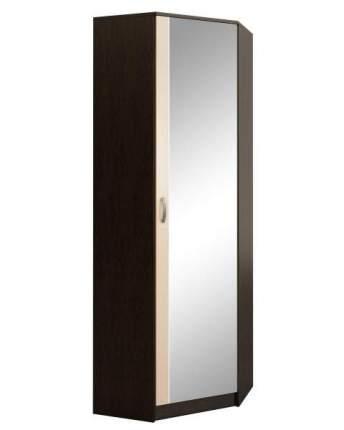 Платяной шкаф MFMaster МСТ-ПДО-ШУ-З2 70х70х200, венге/дуб молочный