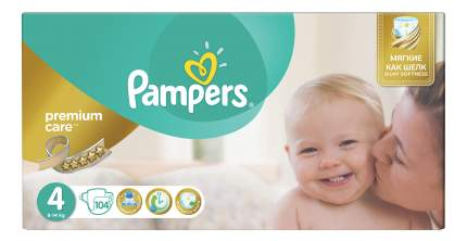 Подгузники Pampers Premium Care 4 (8-14 кг), 104 шт.