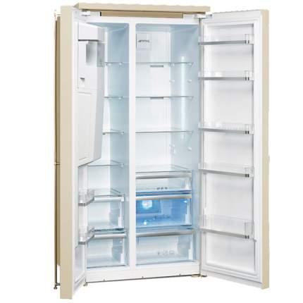 Холодильник Smeg SBS8004PO Beige