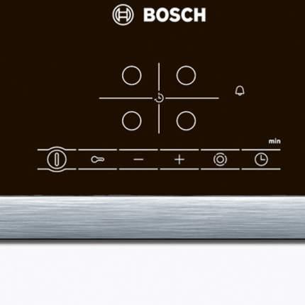 Встраиваемая варочная панель электрическая Bosch PKN645B17 Black