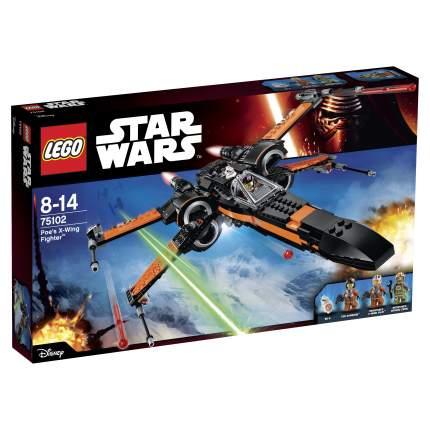 Конструктор LEGO Star Wars Истребитель По (Poes X-Wing Fighter) (75102)