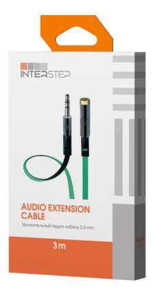Кабель аналоговый аудио interstep IS-DC-BW35JMFEM-000B203