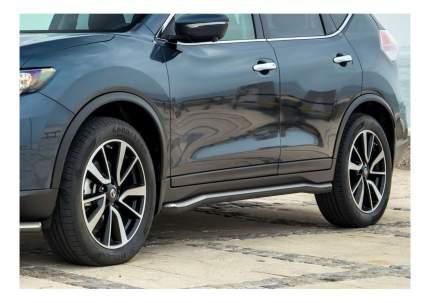 Защита порогов RIVAL для Nissan (R.4122.005)
