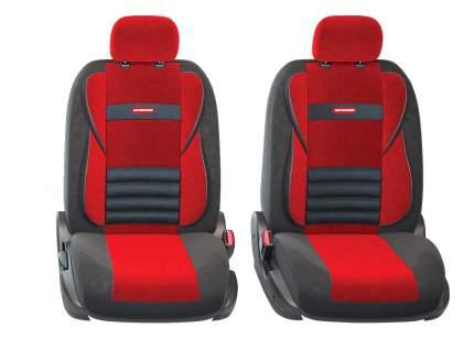 Комплект чехлов на сиденья Autoprofi Comfort Combo CMB-1105 BK/RD (M)