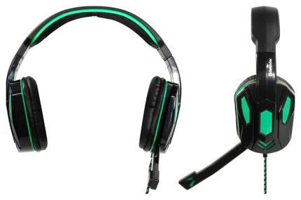 Игровые наушники Defender Warhead G-275 Green/Black