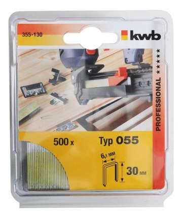 Скобы для электростеплера KWB 355-130