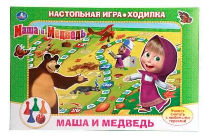 Настольная игра Умка Маша и Медведь. Учимся считать
