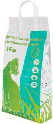 Наполнитель для туалета Homecat Древесный 16 л Без запаха