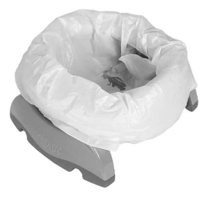 Горшок детский POTETTE Plus Складной Potette Plus 2 в 1 серый + 3 одноразовых пакета