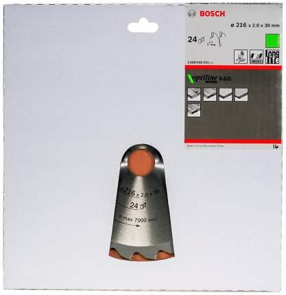 Диск по дереву Bosch STD WO 216x30-24T 2608640431