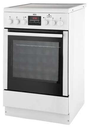Электрическая плита AEG CCM56400BW White
