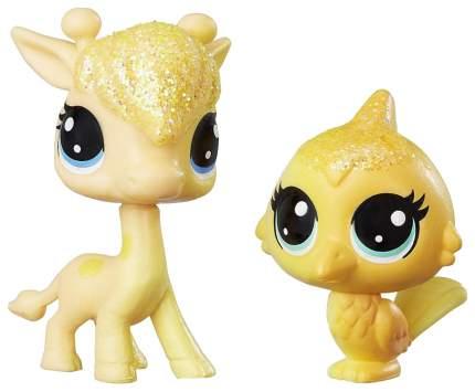 Игровой набор Littlest Pet Shop Hasbro Радужная колллекция 2 радужных пета C0794