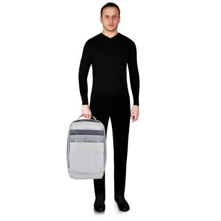 Рюкзак кожаный Piquadro Orinoco серый