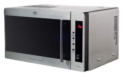 Микроволновая печь с грилем и конвекцией AEG MCC2580/2581E-M silver/black