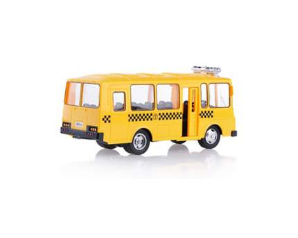Автобус Play Smart ПАЗ - Заказное Такси 1:61 желтый 6523-E