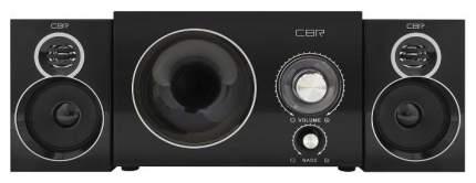 Колонки компьютерные CBR CMS 743 Black 2,1, 2x3 W + 6 W, 220 V