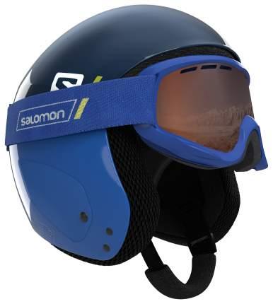 Горнолыжный шлем детский Salomon S Race Jr 2018, синий, S