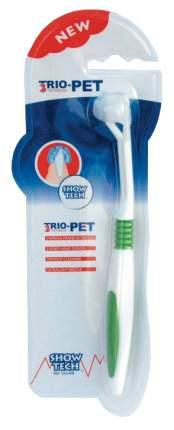 Зубная щетка для животных Show Tech Trio-Pet Toothbrush для собак STC-55STE009