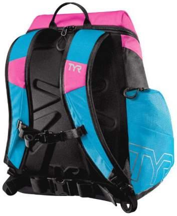 Рюкзак для плавания TYR Alliance LATBP30B 30 л голубой/розовый (371)