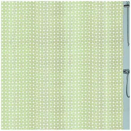 Шторка для ванной Kleine Wolke Dots Green 180x200 см 5290619305 Зеленая