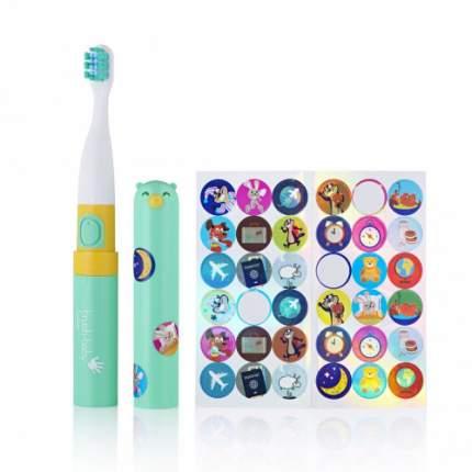 Детская электрическая зубная щетка Brush-baby Go-Kidz бирюзовая