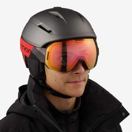 Горнолыжная маска Salomon S/Max 2020 Photo Sigma Bk Rd/Aw Pr